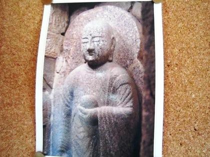 石仏龕の地蔵菩薩
