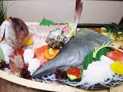 タイラギ貝の舟盛り