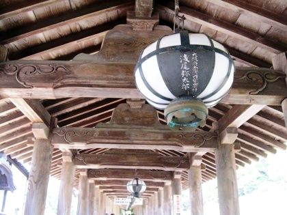 長谷型燈籠