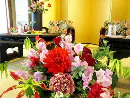 婚礼会場装花