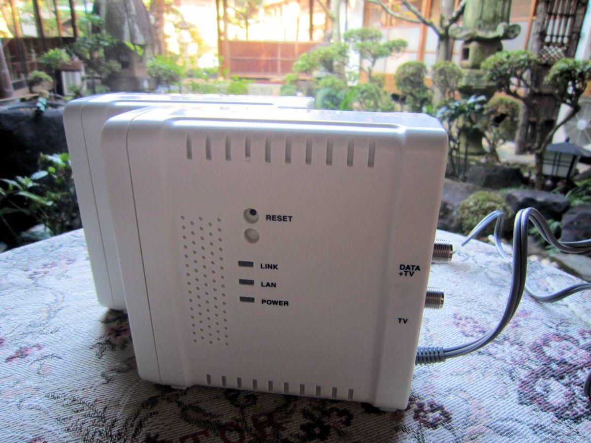 無線LAN付き同軸線モデム