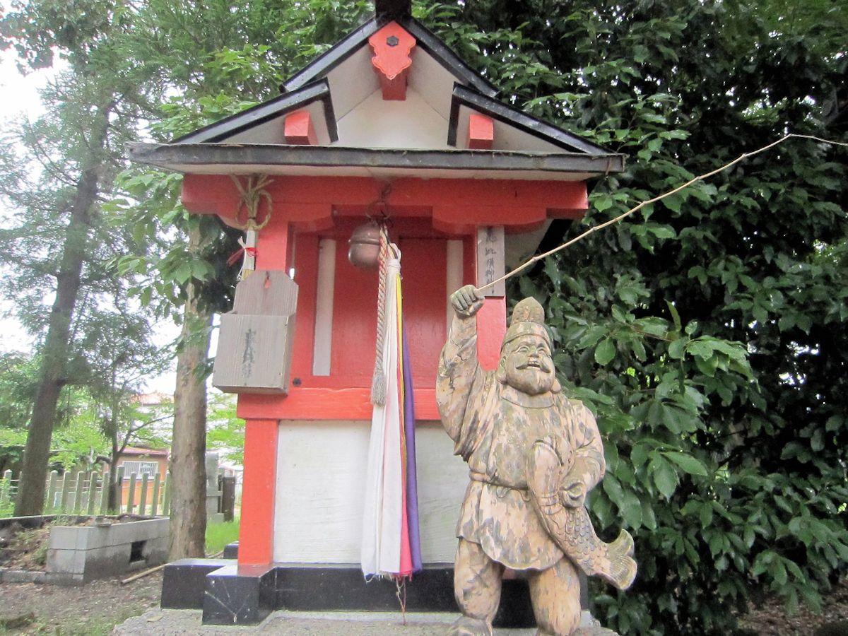楢神社の恵美須神社