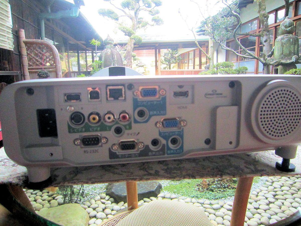 超単焦点エプソンプロジェクター