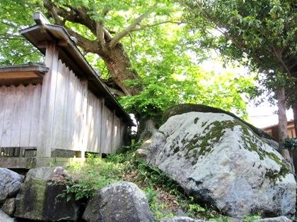 富士・厳島神社と弁天社古墳