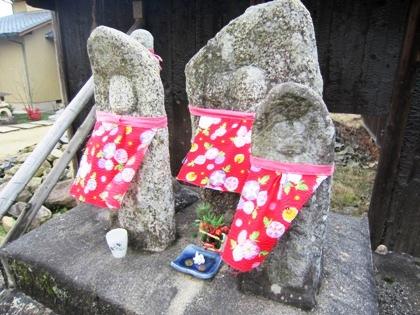 越の地蔵石仏
