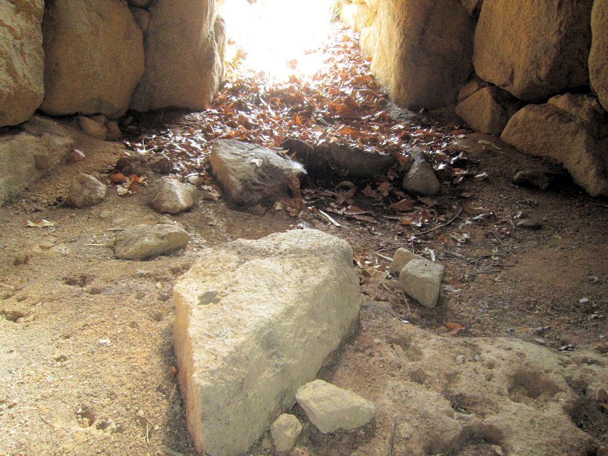 梶山古墳の横穴式石室