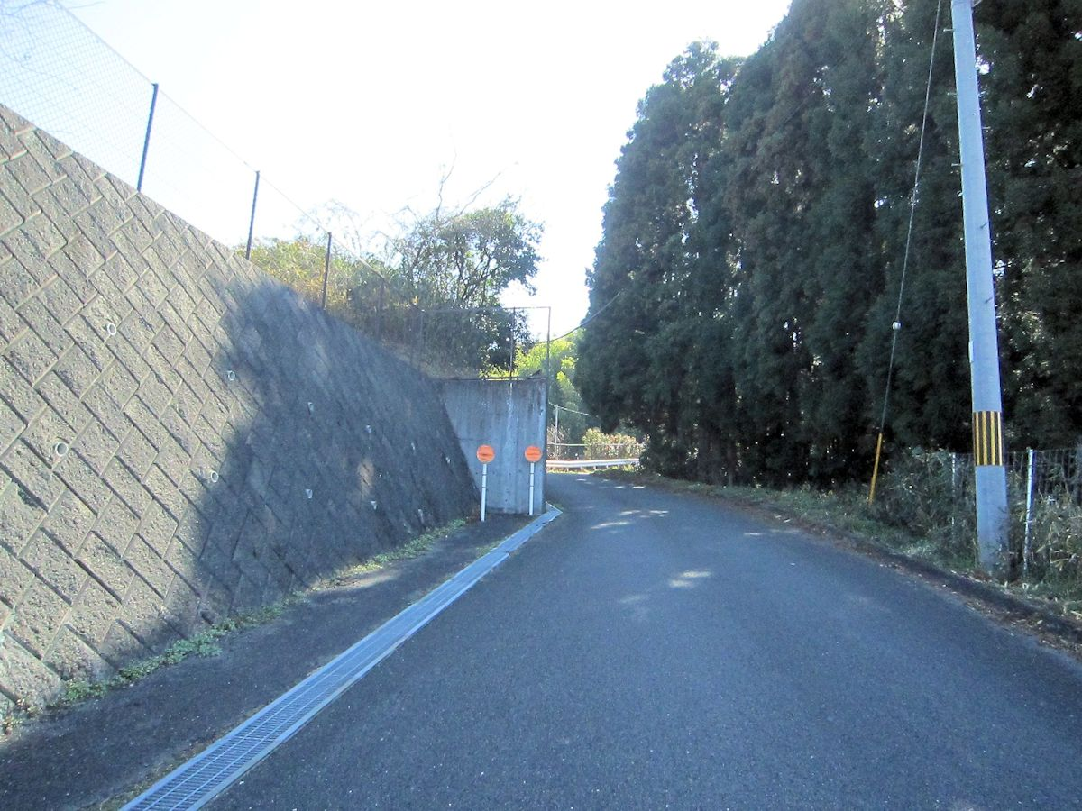 カタハラ1号墳擁壁