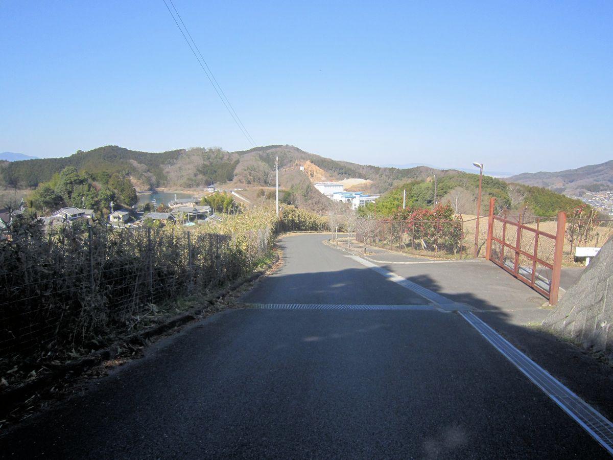 カタハラ1号墳のアクセスルート