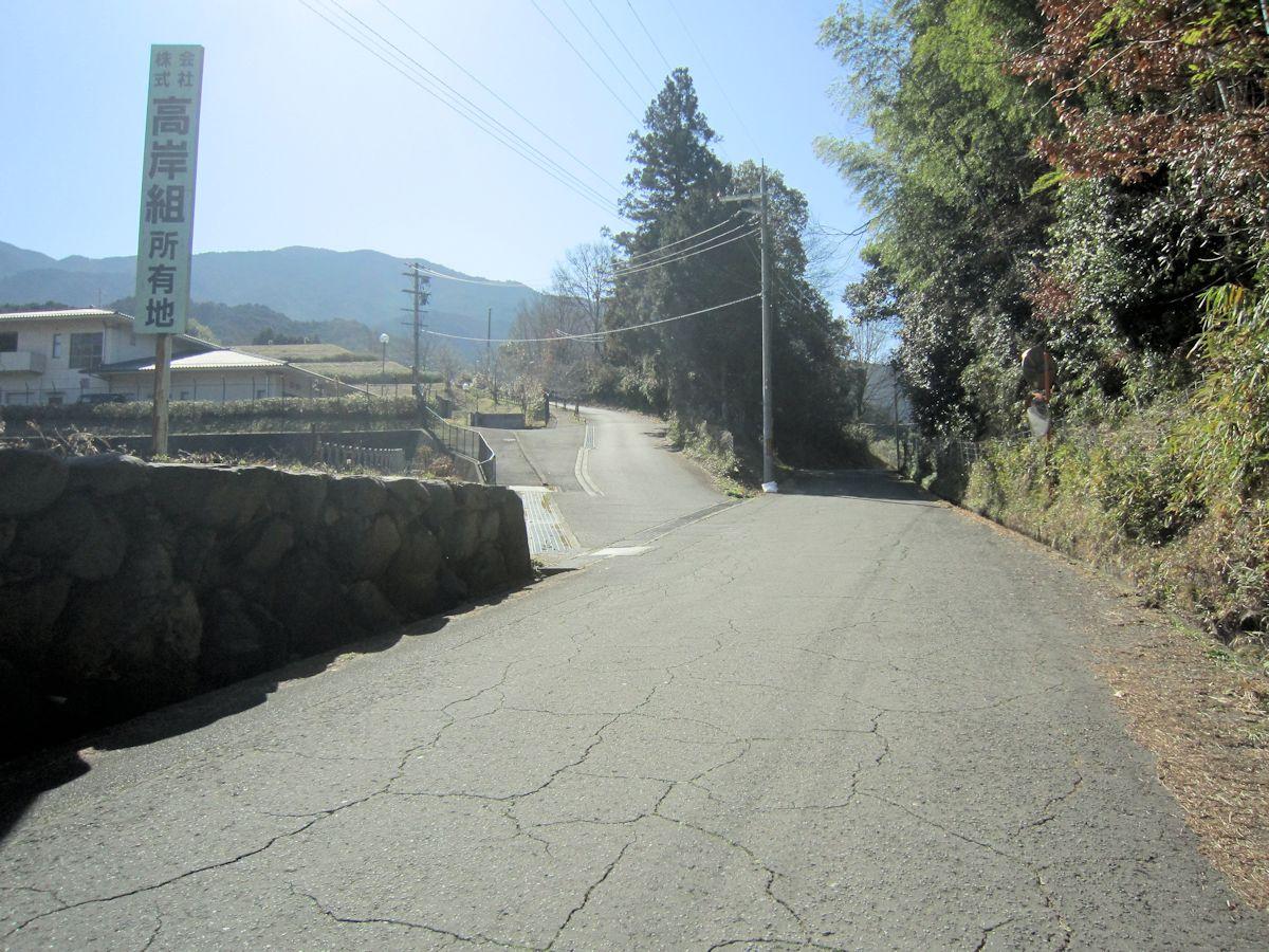 カタハラ古墳群アクセスルート