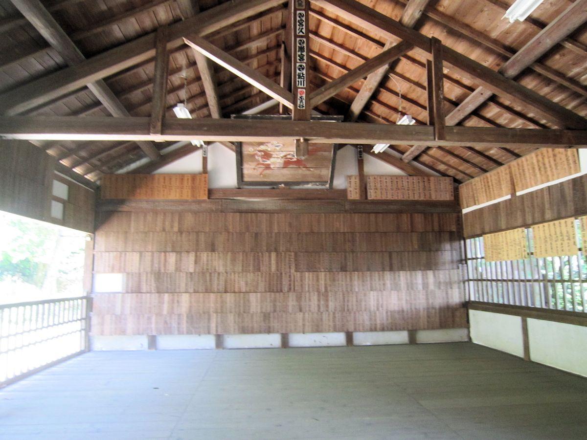 治田神社拝殿