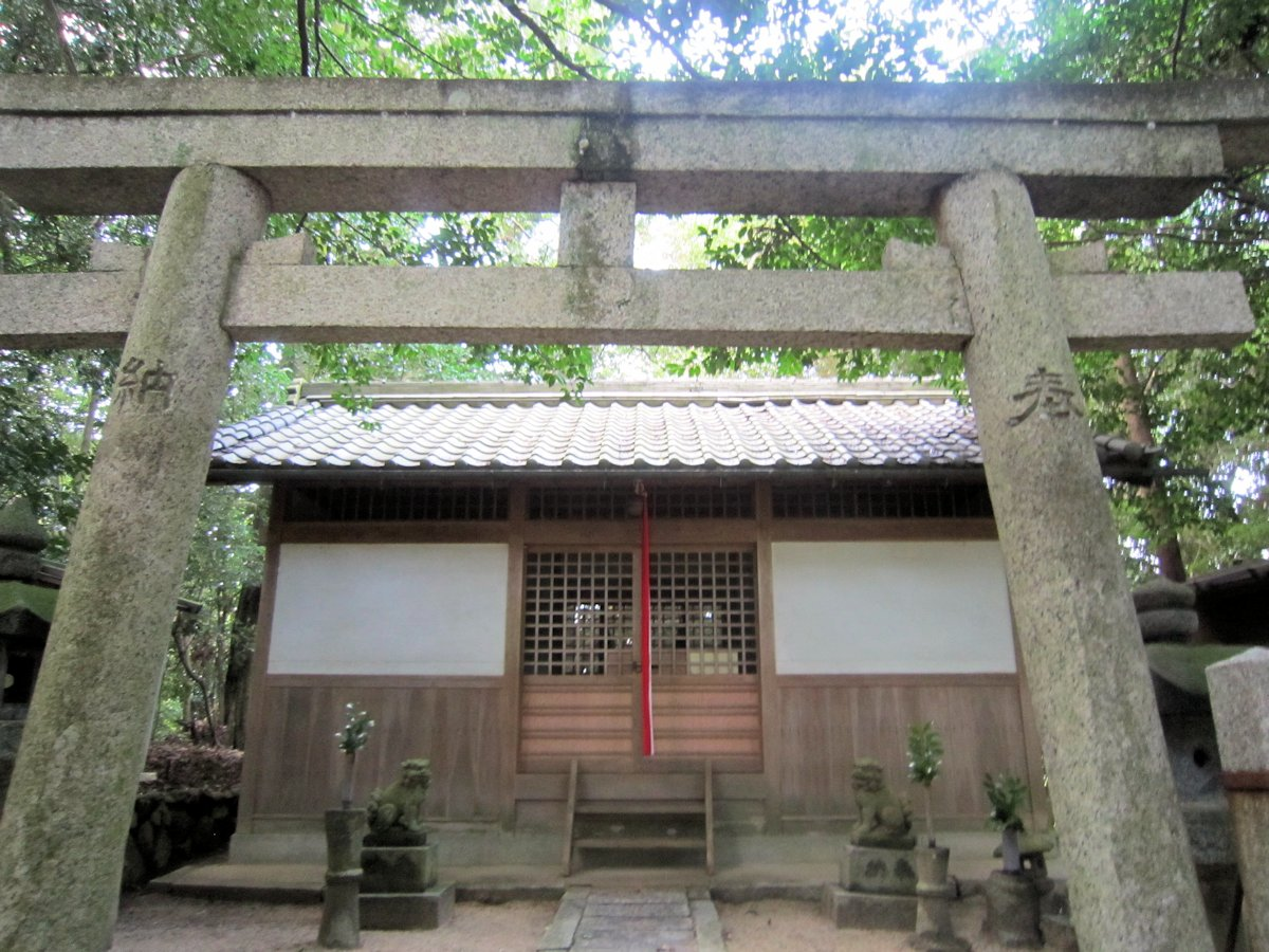 忍坂山口坐神社