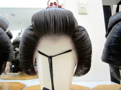 結髪師の花嫁かつら