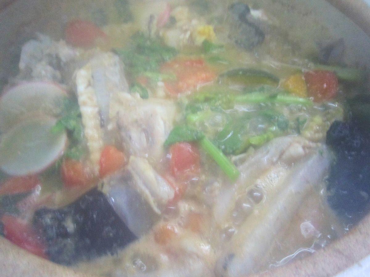 キアンコウ鍋