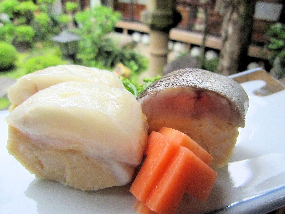キアンコウの芋寿司