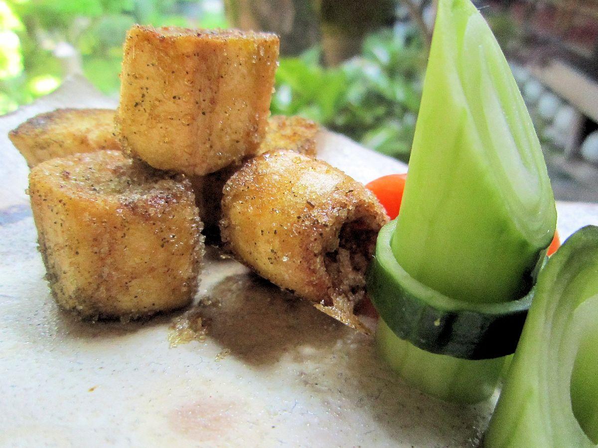モリンガ麩のシュガーバタークッキーと竹胡瓜