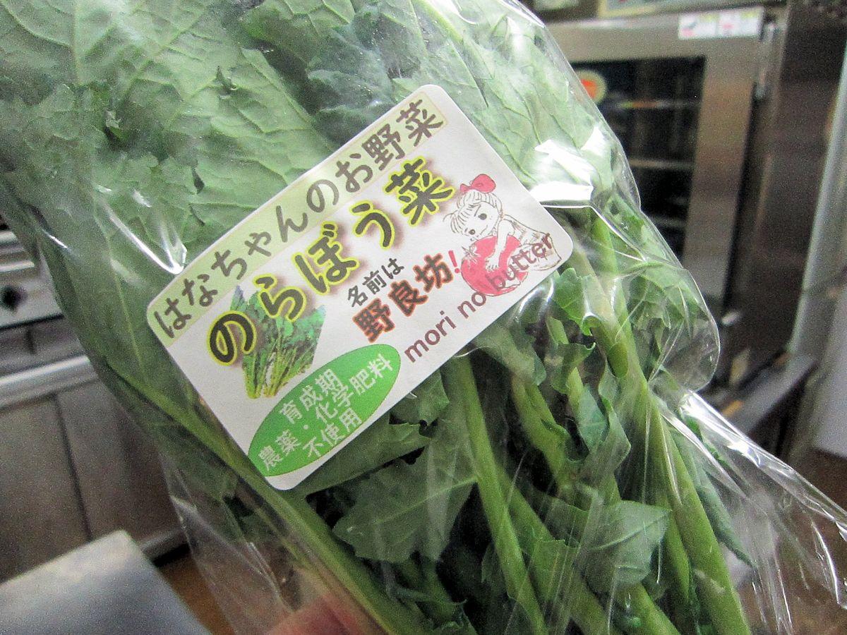 野良坊菜・のらぼう菜