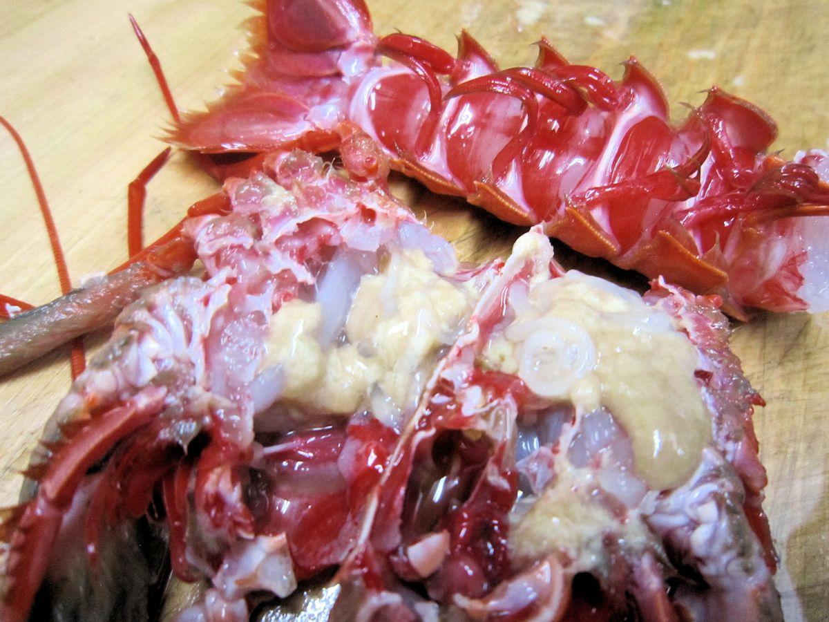 翁エビの海老味噌