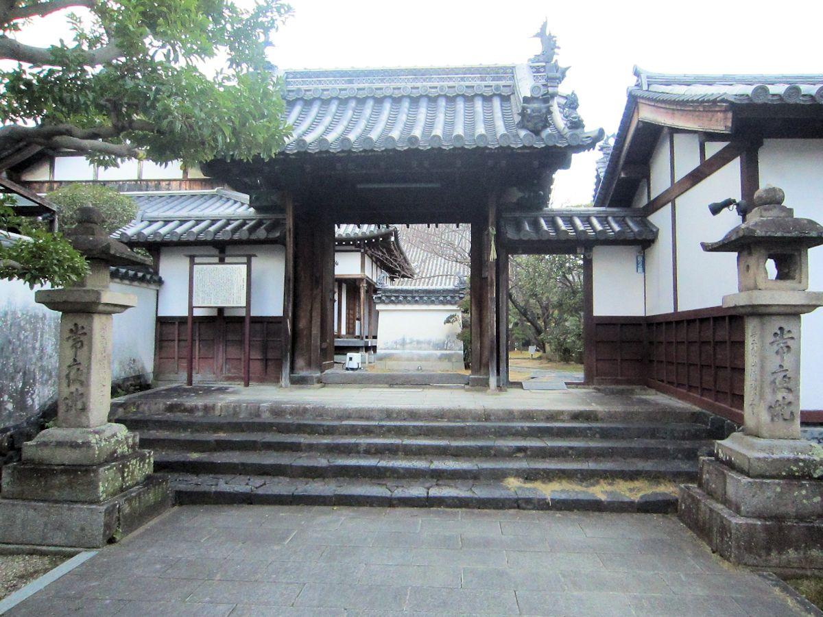 徳融寺山門