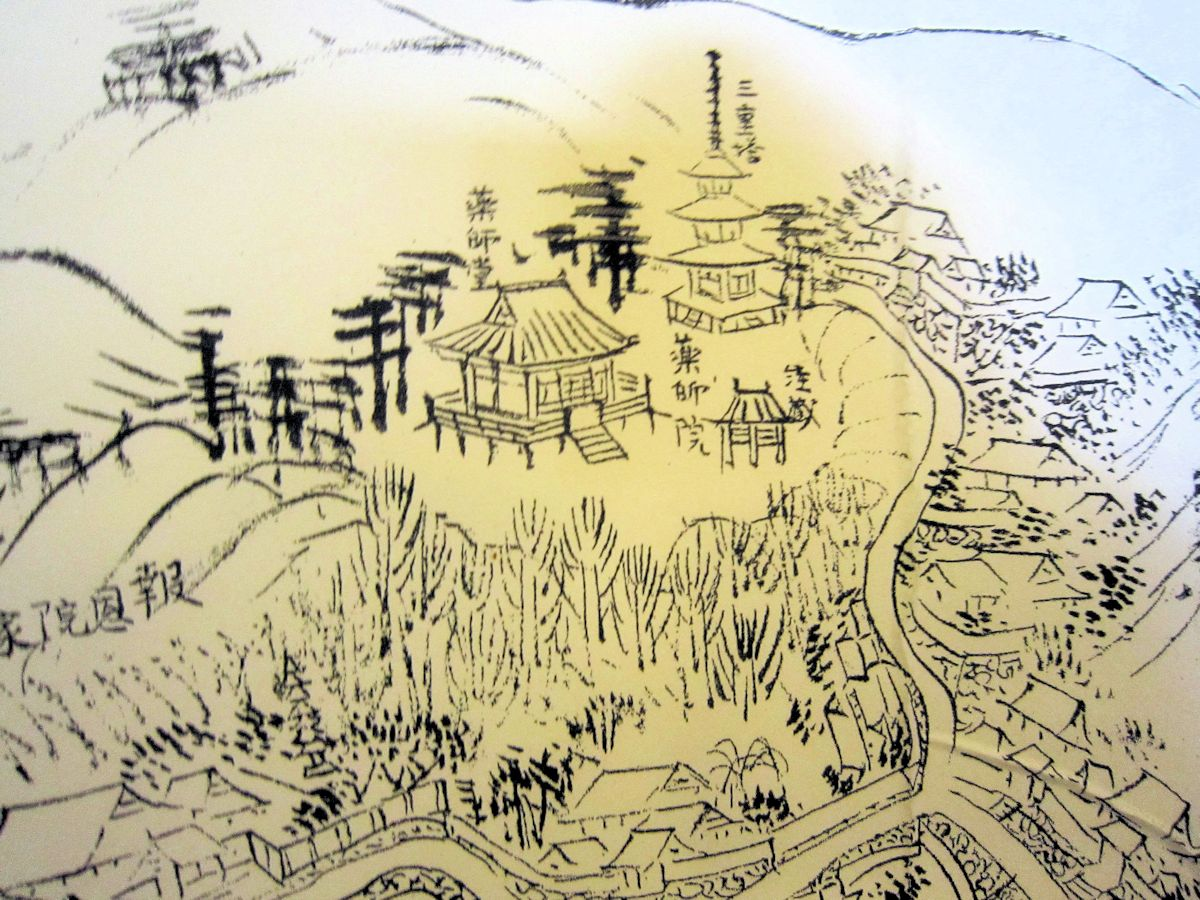 菩提山絵図
