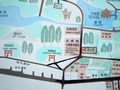 天理教天御津分教会の周辺地図